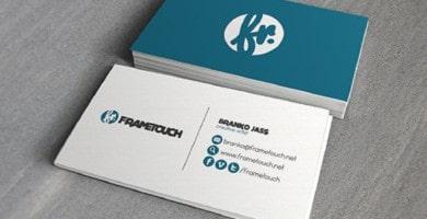 modelos de tarjetas de presentación profesional