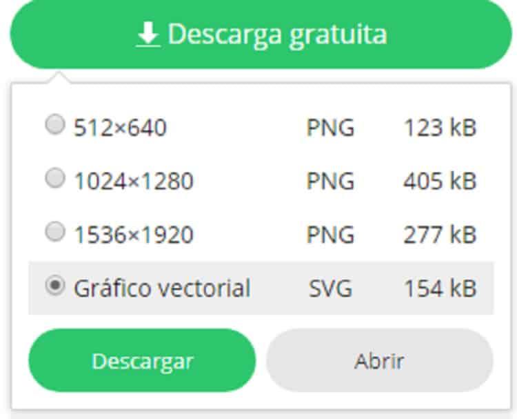 Cómo descargar gratis modelos de vectores