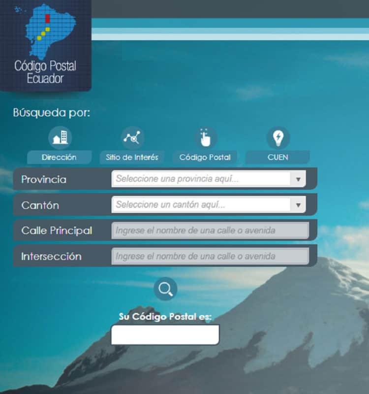 tarjeta postal de ecuador